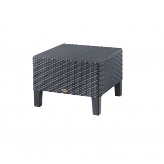 Magnolia Resin Wicker Hospitality Side Table