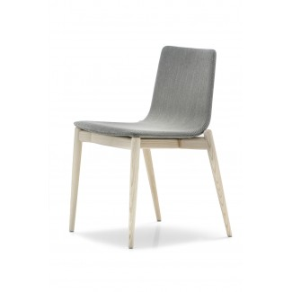 Pedrali Malmo Upholstered Side Chair