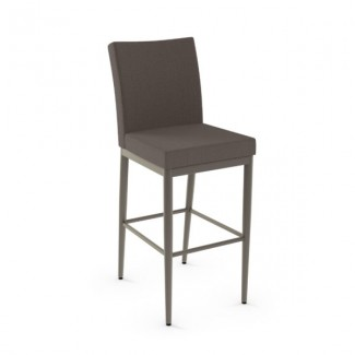 Melrose 45408-USUB Hospitality distressed metal dining stool