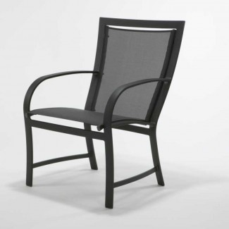 Metropolitan Sling High Back Dining Chair M60001R