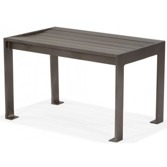 "Meza 18"" x 30"" Bench (Surface Mount)"