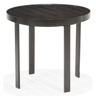 "Meza 24"" Round Side Table"