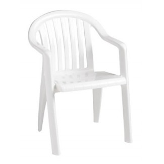 Grosfillex Miami lowback arm chair