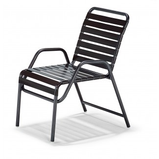 Milan Strap Nesting Game Chair - High Arms M4007