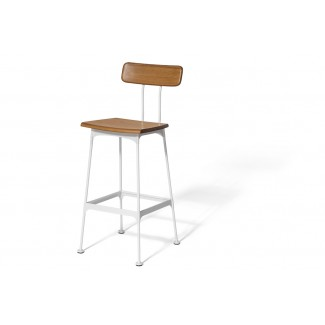 Miley Mid-Century Bar Stool for Hospitality Use