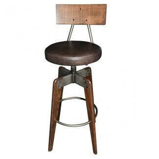 Enjoyable Cfc 373 Industrial Bar Stool Inzonedesignstudio Interior Chair Design Inzonedesignstudiocom