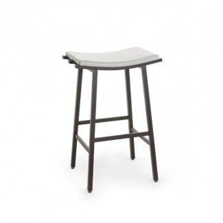 Nathan 40033-USNB Hospitality distressed metal bar stool