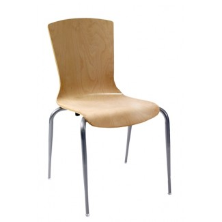 Nesting Bent Wood Side Chair N6-BT
