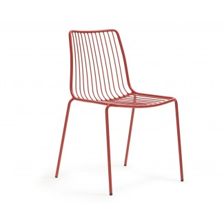 Pedrali Nolita High Back Stacking Sidechair