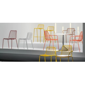 Pedrali Nolita High Seat Stackable Barstool Installation Photo