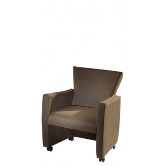 Novella Lounge Chair with Casters 831-C