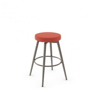 Nox 42534-USNB Hospitality distressed metal bar stool