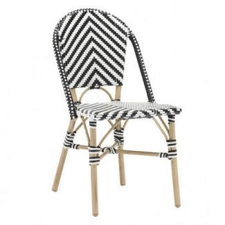 Outdoor Rattan Hospitality Side Chair - Amalie