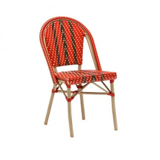 Outdoor Rattan Hospitality Side Chair - Germaine