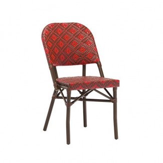 Outdoor Rattan Hospitality Side Chair - Louis