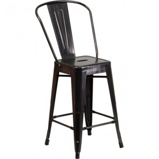 Outdoor Industrial Restaurant Bar Stools Westinghouse 24