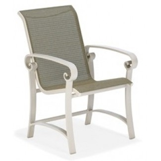 Palazzo Sling Small Scale Dining Chair M4691