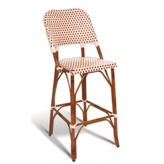 Paris Rattan Bar Stool