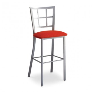Paul    49104-USMB Hospitality distressed metal bar stool