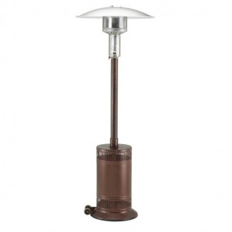 Propane Patio Heater Antique Bronze with Push Button Ignition PC02AB