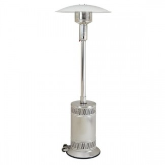 Propane Patio Heater Stainless Steel with Push Button Ignition PCO2SS