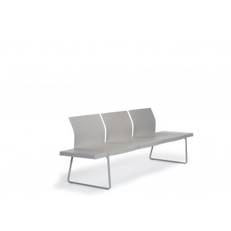 Pedrali Plural Modular Seating without Arms Side View