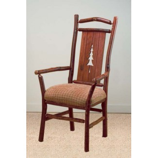 Pine Tree Hickory Arm Chair CFC822