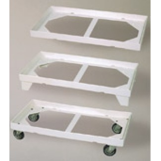 Plastic Pallet RG Chair Tray - White