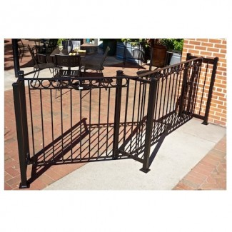 Portable Outdoor Social Distancing Restaurant Hospitality Patio Fencing