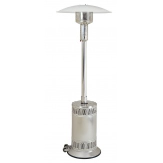 Propane Patio Heater Stainless Steel with Push Button Ignition