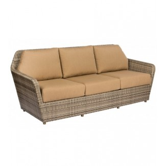 Pueblo S563031 Modern Outdoor Hotel Pool Lounge Commercial Woven Upholstered Sofa