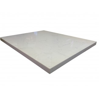 24 x 30 Quartz Carrara Tabletop