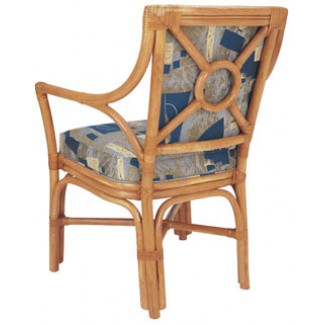 Rattan Arm Chair with Picture Back RA-640UR