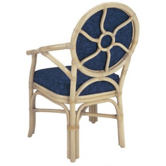Rattan Arm Chair with Picture Back RA-642UR