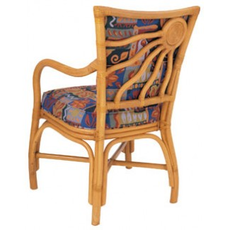 Rattan Arm Chair with Picture Back RA-646UR