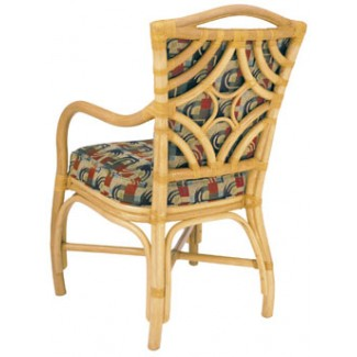 Rattan Arm Chair with Picture Back RA-650UR