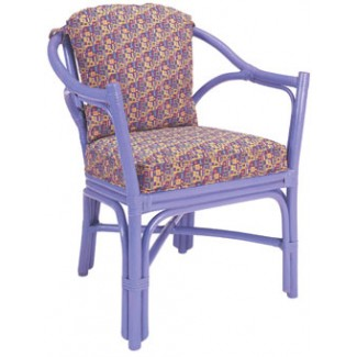 Rattan Arm Chair with Pillow Back RA-626US/UB