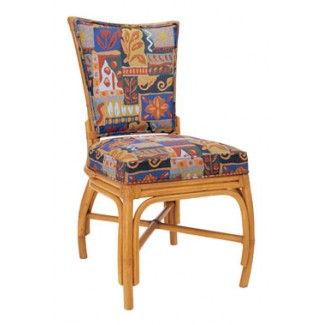 Rattan Side Chair with Picture Back RA-645UR