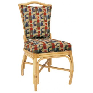 Rattan Side Chair with Picture Back RA-649UR