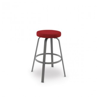 Reel 42436-USNB Hospitality distressed metal bar stool