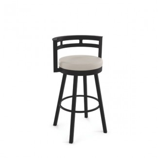 Render 41543-USMB Hospitality distressed metal bar stool