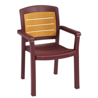 Aquaba Grosfillex Stacking Arm Chair