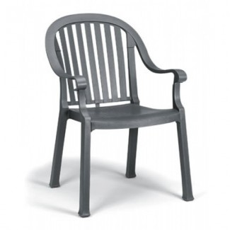 Colombo Grosfillex Stacking Arm Chair
