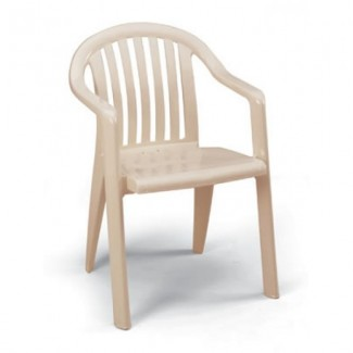 Miami Grosfillex Stacking Arm Chair