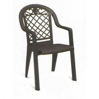 Restaurant Hospitality Outdoor Chairs Savannah Stacking Arm Chair