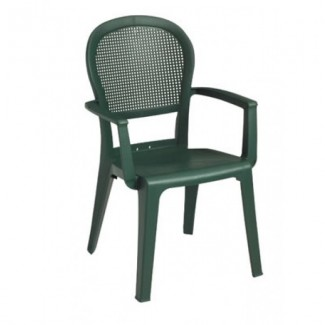 Restaurant Hospitality Outdoor Chairs Seville Highback Arm Chair