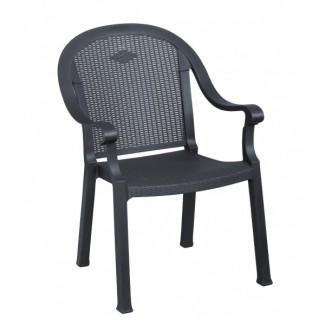 Sumatra Grosfillex Stacking Arm Chair