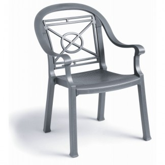 Restaurant Hospitality Outdoor Chairs Victoria Classic Dining Arm Chair