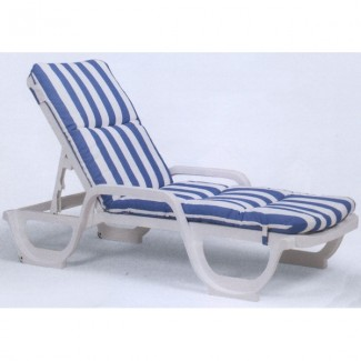 Restaurant Hospitality Poolside Furniture Contract Chaise Lounge Cushion with Hood