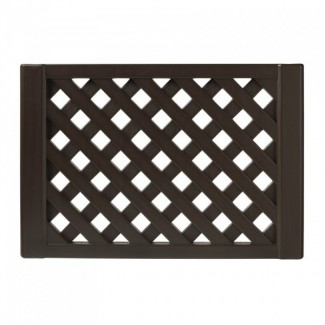 Restaurant Hospitality Portable Fencing 2 Panel Fence Section